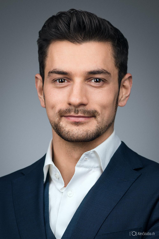 professional studio business portrait  photo for resume